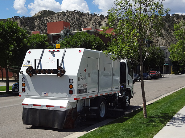 Starfire S-4c Street Sweeping Colorado